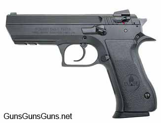 Magnum Research Baby Desert Eagle II Full Size left side photo