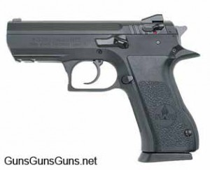 Magnum Research Baby Desert Eagle II mid size left side photo