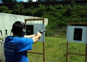 photo of Stuart firing the RJM