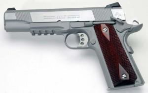 Colt Rail Gun left side photo.