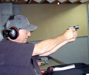 Irv Gill shooting P238 photo
