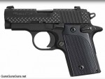 The P238 Black Diamond Plate.