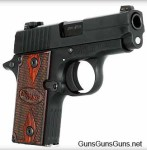 The P238 Rosewood.