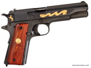 photo of Colt limited 1911 commemorative