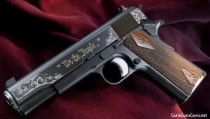 photo of Nighthawk high grade anivversary 1911 pistol