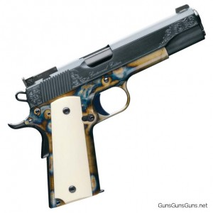photo of Kimber anniversary 1911 pistol