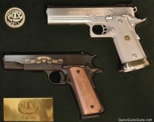 photo of STI 100th anniversary 1911 pistol