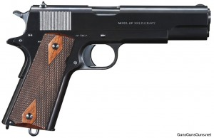 photo of Turnbull 1911 anniversary pistol