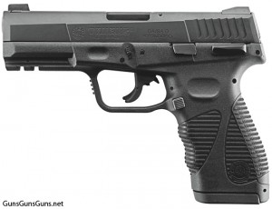 Handgun reviews: Left-side view of the 24/7 G2 full-size.