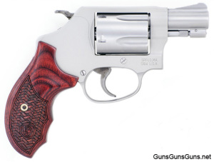 Smith Wesson 637 wood grip Talo photo