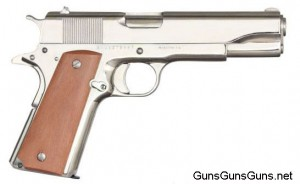 Rock Island Armory 1911 GI right side nickel finish photo