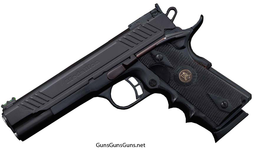 Armscor 1911A1 Medallion Tactical left