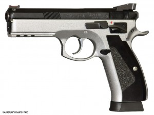The CZ 75 SP-01 Shadow Custom.