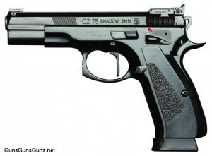 CZ 75 Shadow Target Single Action left side photo
