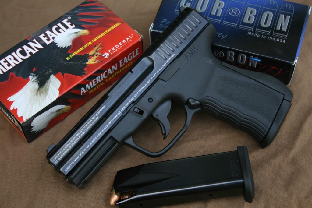 Handgun review photo: the FMK Firearms 9C1 Gen 2 pistol, right side