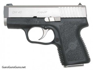 Kahr Arms CM40 left side photo