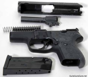 The author's P224 disassembled.