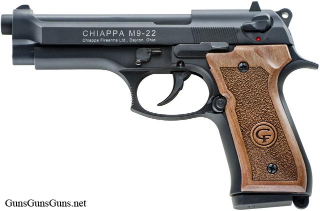 Chiappa Firearms M9 22 wood left side