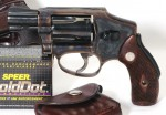 Handgun review photo: Left-side thumbnail of S&W Model 40-1.