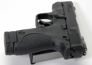 Smith Wesson Shield rear photo