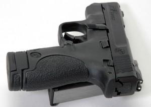 Smith Wesson Shield rear photo