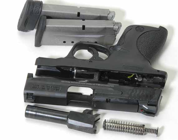 Smith Wesson Shield disasssembled