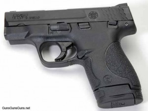 Smith Wesson MP Shield 9mm left side photo