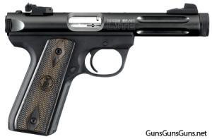 The 22/45 Lite with the black, fluted receiver.