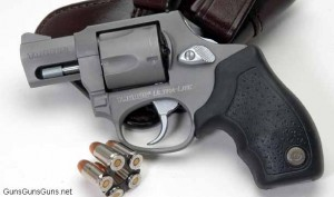 Handgun review photo: Left-side thumbnail of Taurus Mini Revolver.