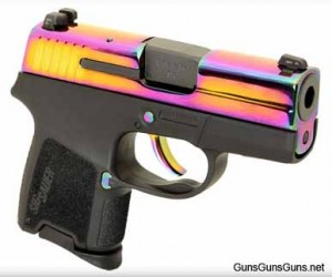 The P290 Rainbow Titanium.