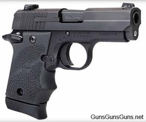 The P938 BRG (i.e., black rubber grip).