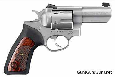 Handgun review photo: Right-side thumbnail of Ruger GP100 Wiley Clapp.