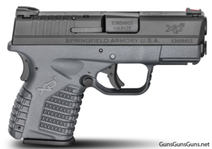 Springfield Armory XD-S gray frame photo