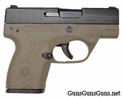 Beretta Nano flat dark earth