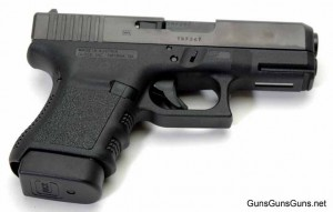 The author's Glock 30S from the right.