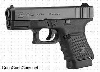 Glock 29 Gen4 left