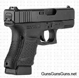 Glock 29 Gen4 right rear