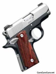 Kimber Micro CDP photo, right side