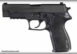 SIG Sauer P227 nitron left
