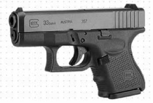 Glock 33 Gen4 left