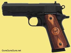 Iver Johnson Arms Falcon matte blue left