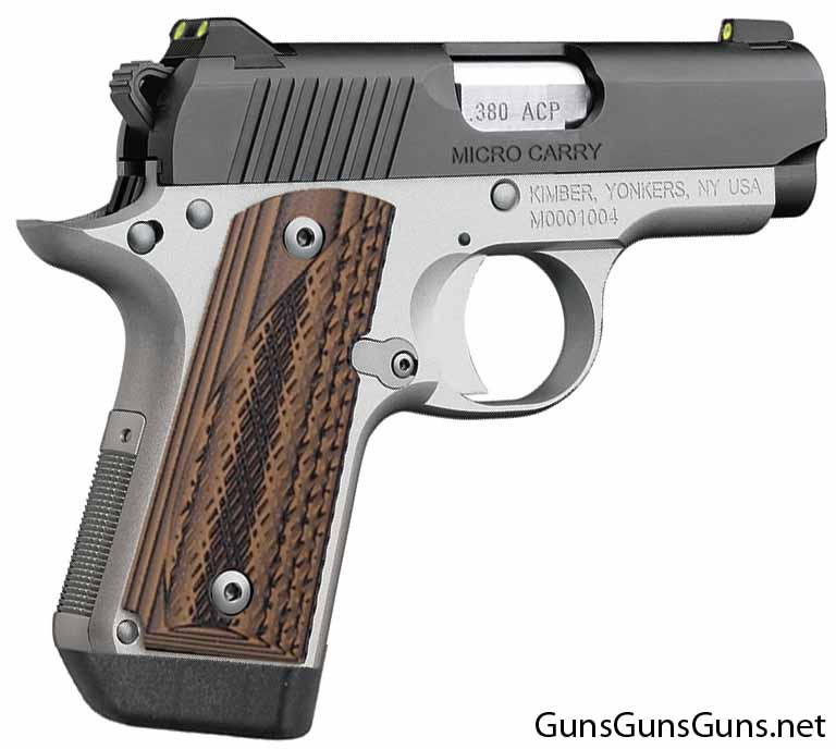 Kimber Micro Carry Advocate brown right side photo