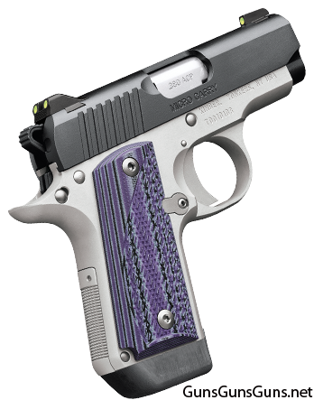 Kimber Micro Carry Advocate purple right side photo