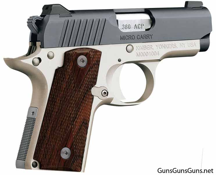 Kimber Micro Carry Two Tone right side photo