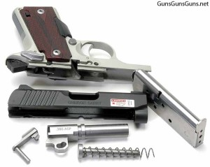 Kimber Micro Carry disassembled photo