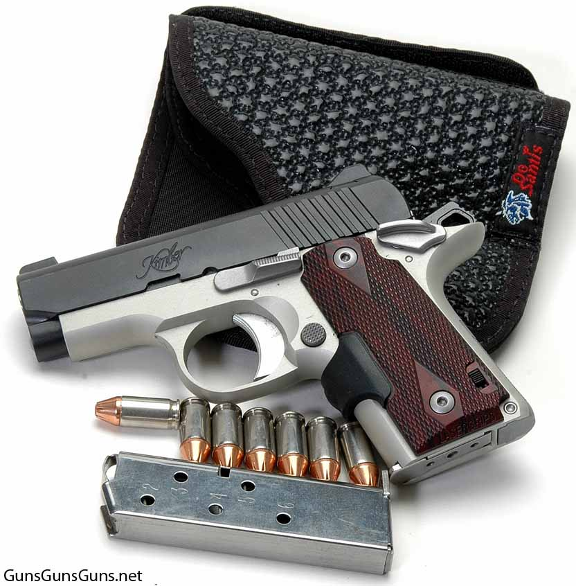 Kimber Micro Carry left side