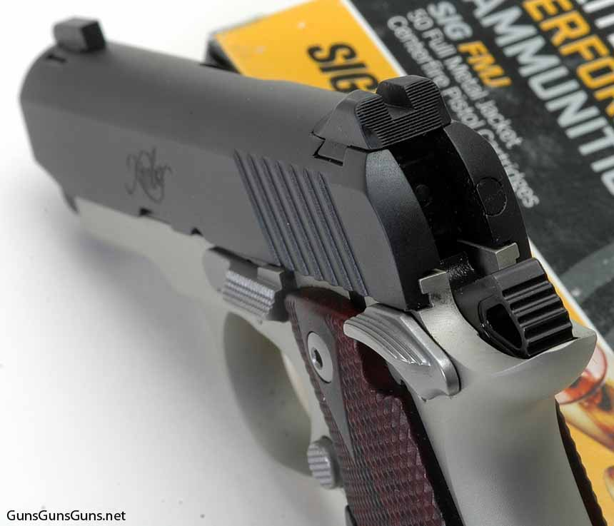 Kimber Micro Carry rear sight photo