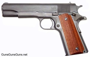 M1911A1 Government 45 ACP Left Side photo