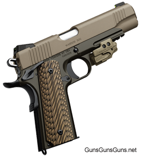 Kimber Warrior SOC right side
