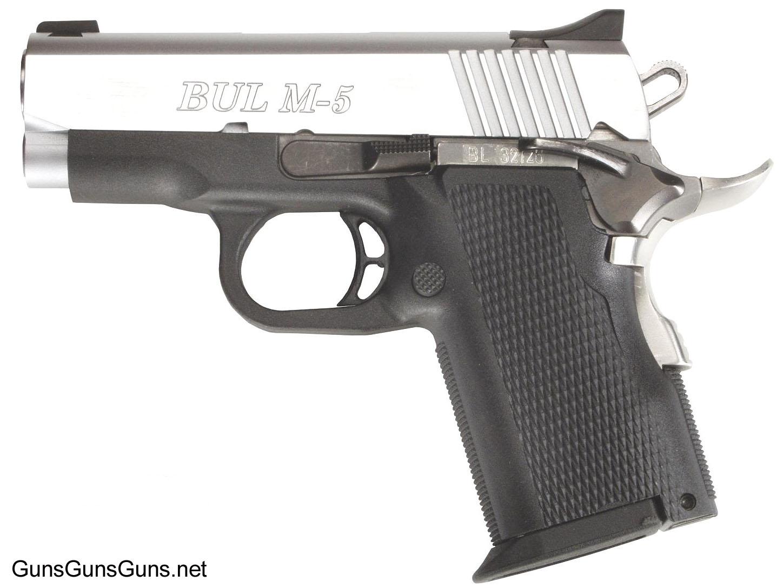 BUL M5 Ultra x left side